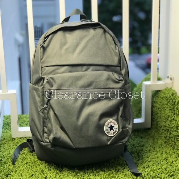 Converse Poly Chuck Plus 1.0 Backpack Grey Unisex. f31aff8174a99
